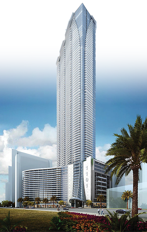 Miami 1101 Brickell Bay Dr Panorama Tower 830 Ft